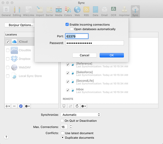 DT Sync Settings - Main Mac (with Bonjour+iCloud Sync)