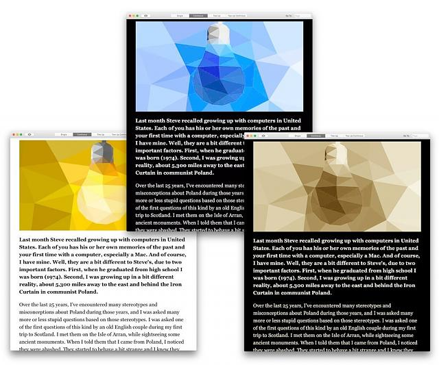Change background of PDF for Dark Mode - DEVONthink