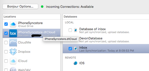 Changing Encryption password - DEVONthink
